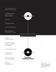 Executive Communications - Print Materials - Baach Creative Design Agency