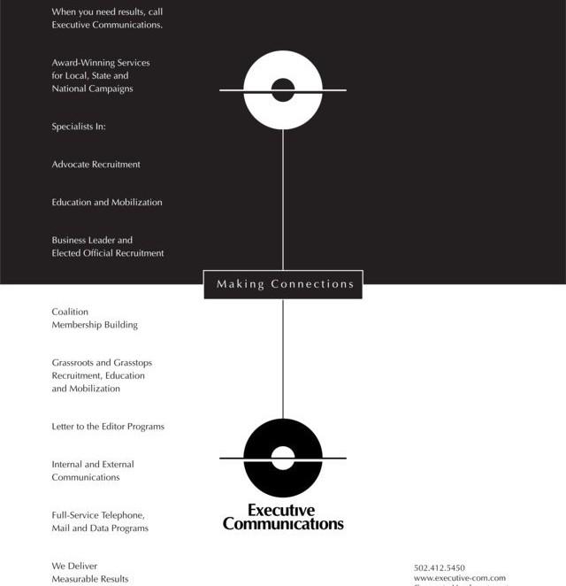 Executive Communications - Print Materials - Baach Creative Design Agency