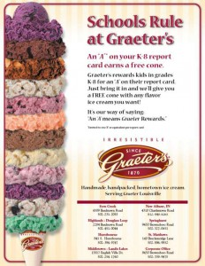 Graeter's Ice Cream - Ads and Promotions - Baach Creative Design Agency