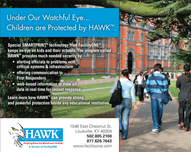 HAWK ad for colleges
