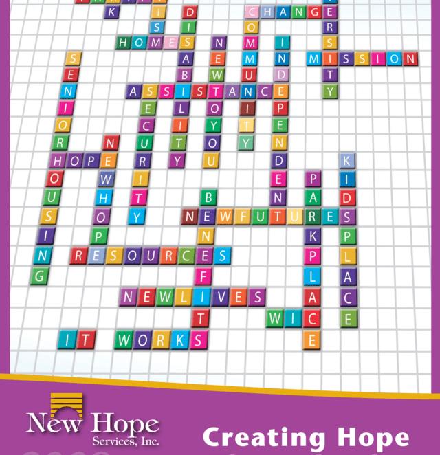 New Hope Services - Baach Creative Branding Design Firm