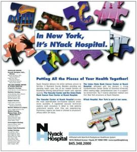 NYack Hospital - Baach Creative Design Firm