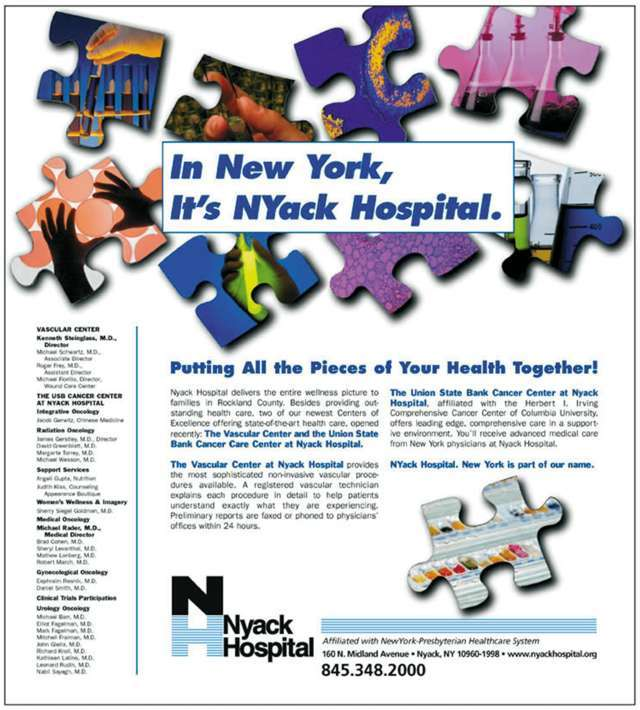 NYack Hospital - Baach Creative Design Firm