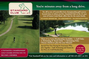 Standard Club - Baach Creative Louisville Design Firm